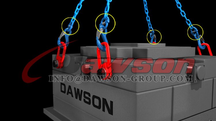 Application of Application of G100 Japanese Type Connecting Link, Grade 100 Alloy Steel Chain Connector for Chains - China Manufacturer - Dawson Group Ltd.