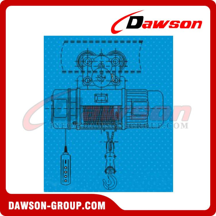 DS-KMD DS-KCD Wire Rope Electric Hoist, Construction Hoist - China ...