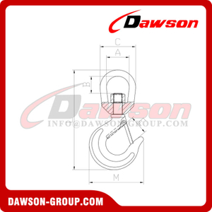 DS383 Special 322C Swivel Hook