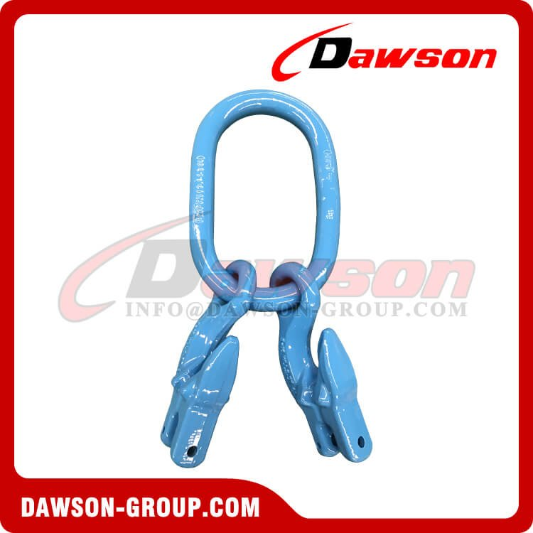 G100 Master Link + G100 Eye Grab Hook with Clevis Attachment ×2 - Dawson Group Ltd. - China Manufacturer