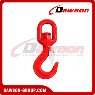 G80 / Grade 80 Swivel Hook with Latch for Lifting Chains