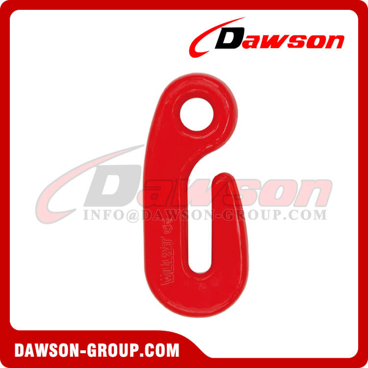 DS025 G80 Special Shaped Eye Type Hook for Lashing and Pulling