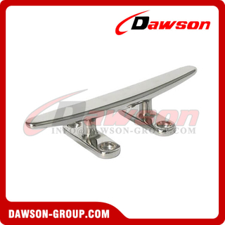 Stainless Steel Open Base Cleat, Flat Cleat