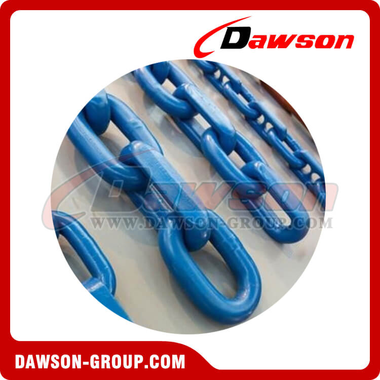 G100 High Quality Welded Painted Mining Chain - Dawson Group Ltd. - China Supplier