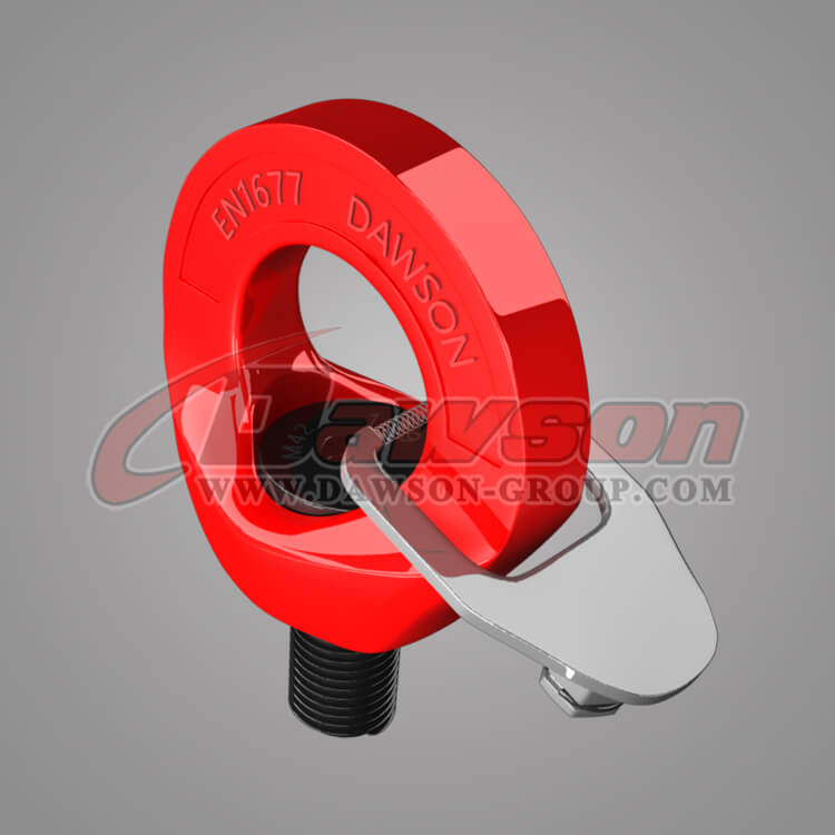 G80 Eye Type Rotating Ring, Grade 80 Eye Shaped Swivel Ring Bolt - China Manufacturer, Supplier