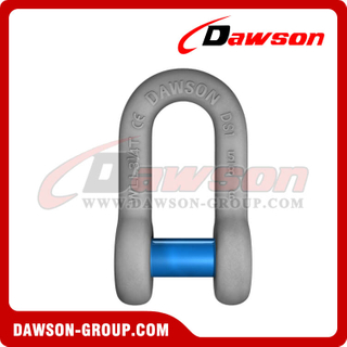 US Type Forged Trawling Dee Shackle with Sunken Pin, S6 Dee Shackle Sunken Head Pin