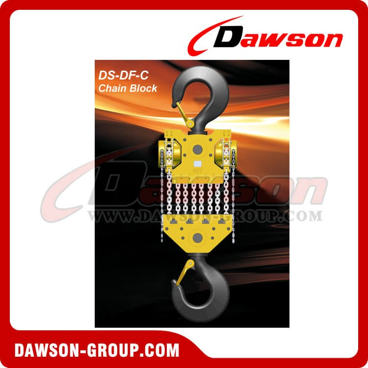 DS-DF-C 50T, 60T Chain Hoist, Chain Block - China Manufacturer