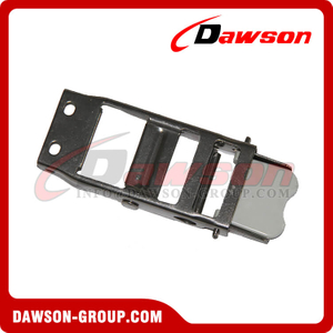 DG-OB007 2'' 50mm Stainless Steel Overcenter Buckle with Plastic Latch for Cargo Strap / Tarp Strap Safety Belt
