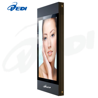 55inch wall-mounted fan-cooling high brightness LCD monitor