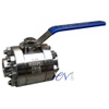 High Pressure Forged SS 316 Lever Operated Floating Ball Valve