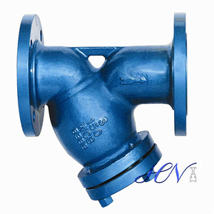 Inline Water Flanged Y Type Strainer Filter