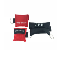 CPR Face Shield Bag Key Chain for CPR Training, Hospital Disposable Res-Cue