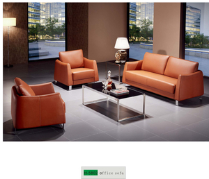 Orange Office Sofa H-5802
