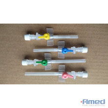 I.V. Cannula with Injection Port & Wings, Sterile
