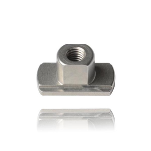DIN508 metric stainless steel t head nut for wood