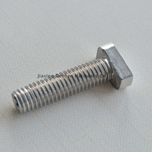 metric m16 stainless steel t-handle bolts for toilet