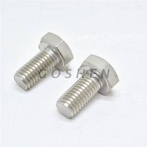 Super Duplex 2205 Stainless Steel Full Thread Hex Head Bolts M10*30mm