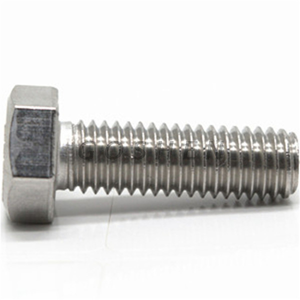 A286 Super Stainless Steel Hexagon cap bolt 1/2""