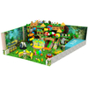 Jungle Theme Kids Soft Indoor Play Center Equipment with Tube Slide