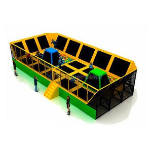 Indoor Commercial Kids Gym Trampoline Park with Net