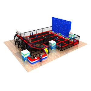 Commercial Amusement Equipment Indoor Trampoline Park