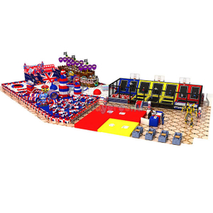 Pirate Ship Themed Park Soft Commercial Indoor Playground for Kids