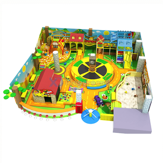 Jungle Theme Design Entertainment Children Indoor Play Structure for sale