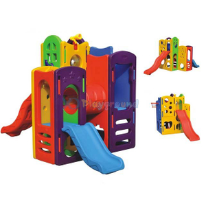 Amusement Plastic Kids Play Toys Slide for Kindergarten/Home