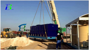 Sewage Treatment Plant in Middle East Well Drilling Rigs and Camps