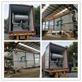 Coconut Product Industrial Wastewater Pre-Treatment DAF Dissolved Air Flotation Machine in Philippines