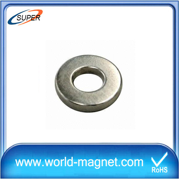 Large ring neodymium rare earth monopole magnet for sale