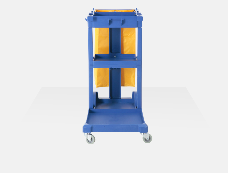 Plastic Multi-Function Cleaning Trolley (YG-039)