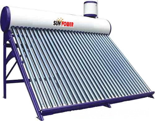 Plastic Spraying Coating Solar Water Heater (SPR 50-300L)