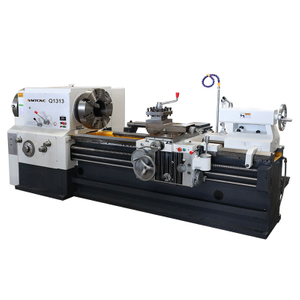 Q1313 135mm Big Spindle Bore Pipe Threading Machine with CE Protection
