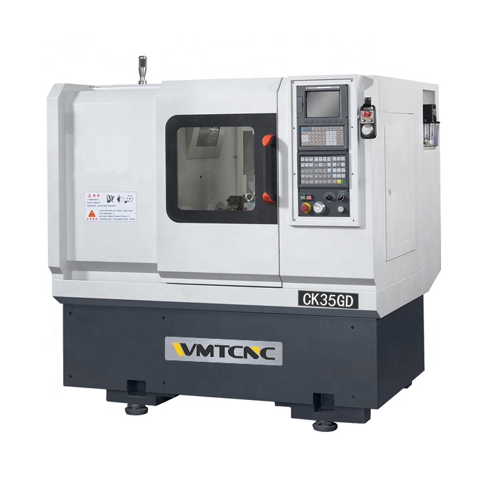 High Speed CK35GD 350 Mmcnc Lathe Manufacturers with Linear Guide And Power Turret for Sale