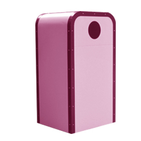 Outdoor Trash Bin for Hot Selling with Metal Material