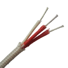 Fiberglass insulated Resistance Temperature Detector (RTD) Wire