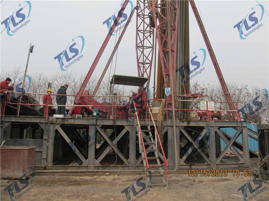 TLS Technologies Borehole Inspection Camera Application Case-Tongxiang Zhejiang logging field-07