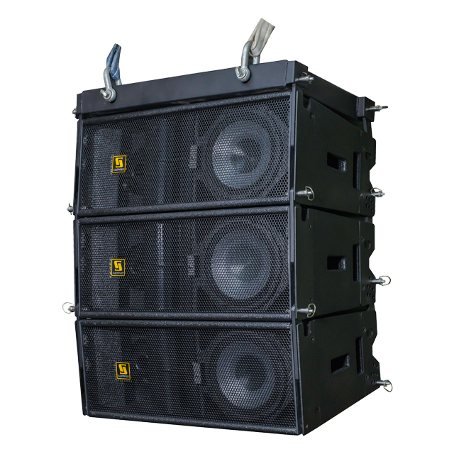 "W8LM Dual 8 ""Touring Mini Line Array Altavoz"