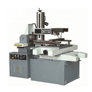 DK7732 New Controller China EDM Cnc Wire Cutting Machine Price