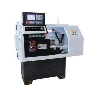 CK0640 High Precision Benchtop Cnc Lathe with Pneumatic Chuck
