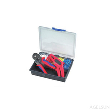 HS-3D Crimping tool kits with HSC86-6(0.3-6mm2)&FS-8 stripper tool(0.5-6mm2)