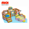 Safe Mini Indoor Soft Mobile Playground Facility con trampolino per bambini