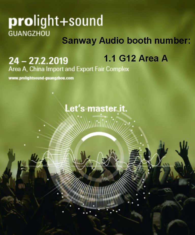 2019 Гуанчжоу Pro Light and Sound Выставка