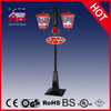 (LV188DH-RH) Rainproof Christmas Snowing Street Lamp with LED and Music