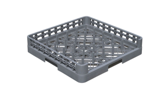 Plastic Open Design Peg Plate Tray Rack (BK-014)