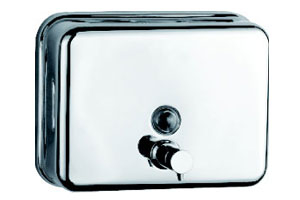 Stainless Steel Single-Hole Soap Dispenser for Hotel (KW-821)