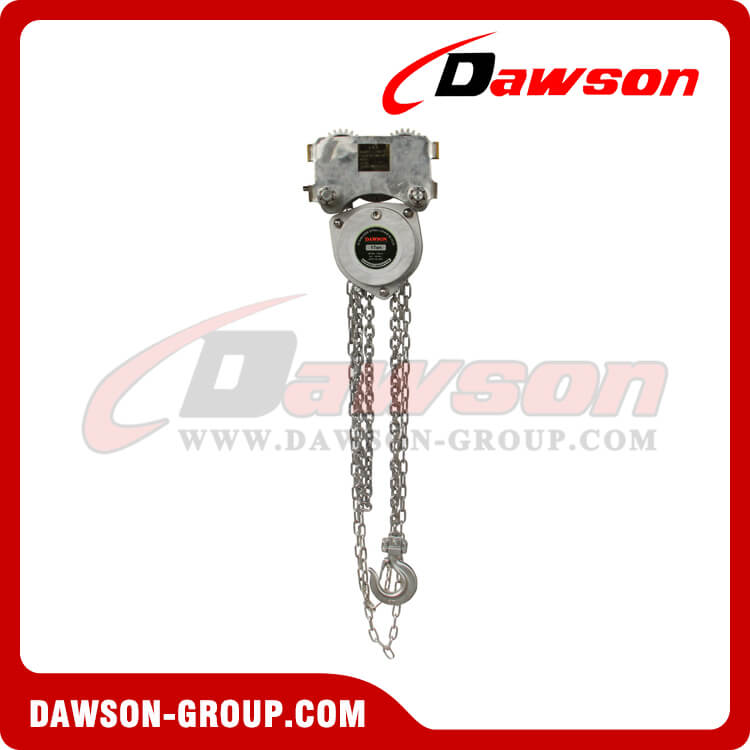HSS-ZHF type stainless steel chain hoist(Low headroom)