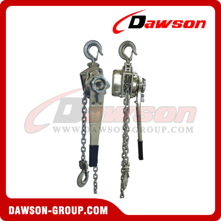 DSSH type stainless steel lever hoist - Dawson Group Ltd. - China Factory, Supplier