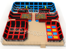 MICH Indoor Trampoline Park Design for Amusement 5109A